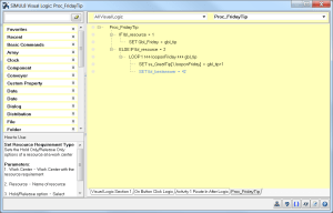 SIMUL8 Visual Logic