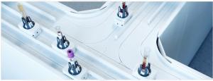 Sysmex track system