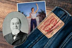 Levi Strauss and levi jeans