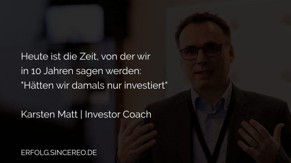 Karsten Investor Coach - Master