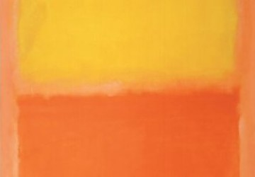 Orange and Yellow and Rothko s Multiforms Aesthetic