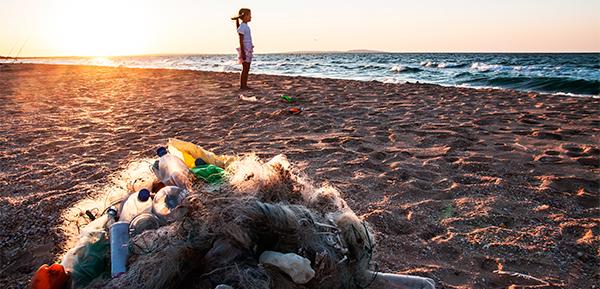 El plástico de nuestras playas