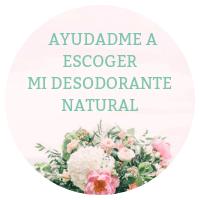 Consejo desodorante natural
