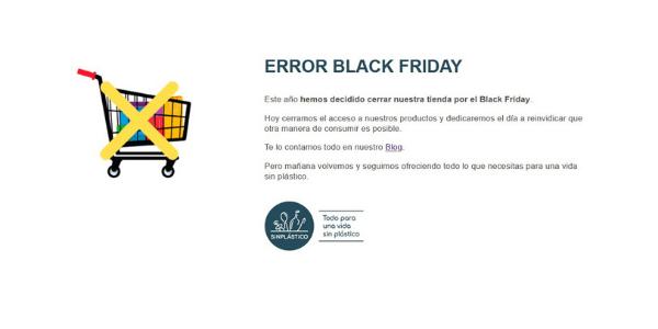Tienda cierra Black Friday