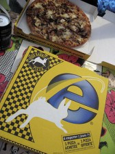 Internet Explorer pizza!
