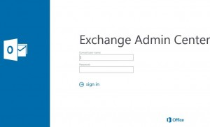 Exchange-Admin-Center