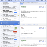 Attractive Gmail new look on iPad