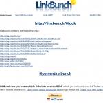 Strni več povezav v eno z uporabo Link Bunch