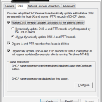 DHCP is not updating DNS records
