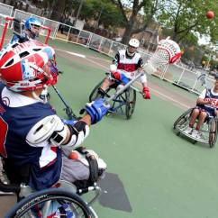 Wheelchair Fight John Stuart Chairs My Spotlight Us Lacrosse Grows The Game