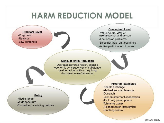 Harm reduction model