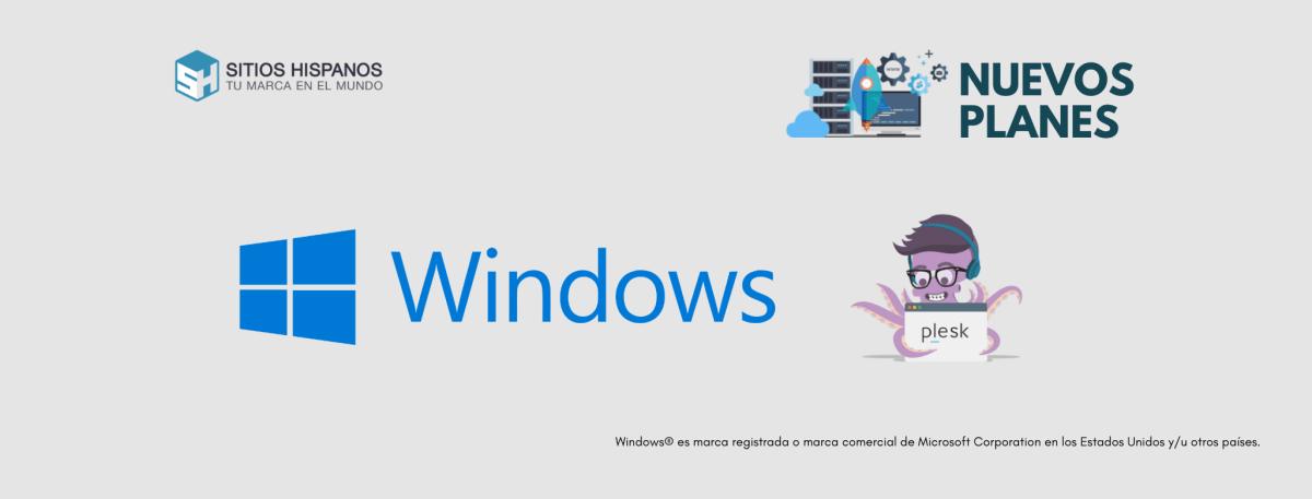 Alojamiento web en Windows