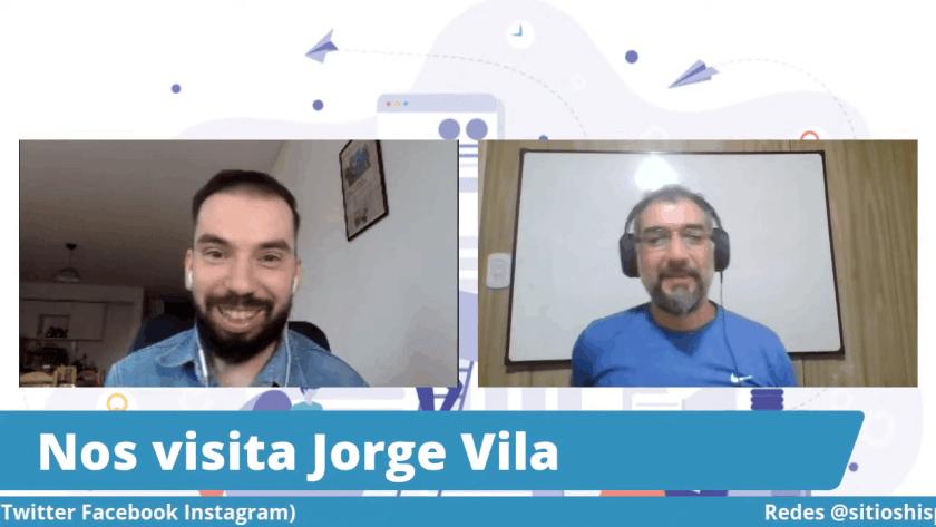 Captura charla Jorge Vila y Martín Di Luzio