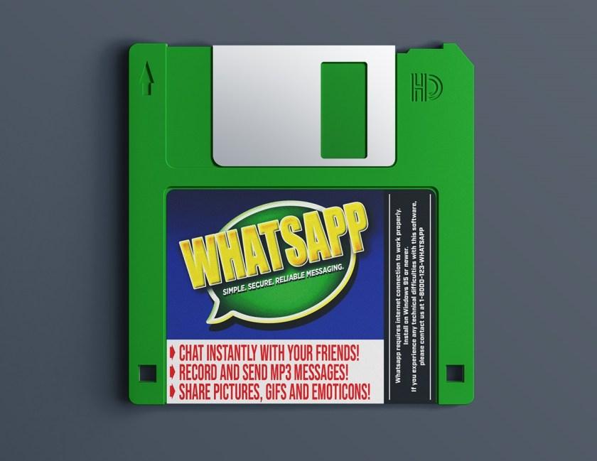 Diskete whatsapp