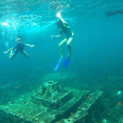 blog sittakarina - Serunya Ajak Anak Snorkeling di Pulau Pahawang (8)