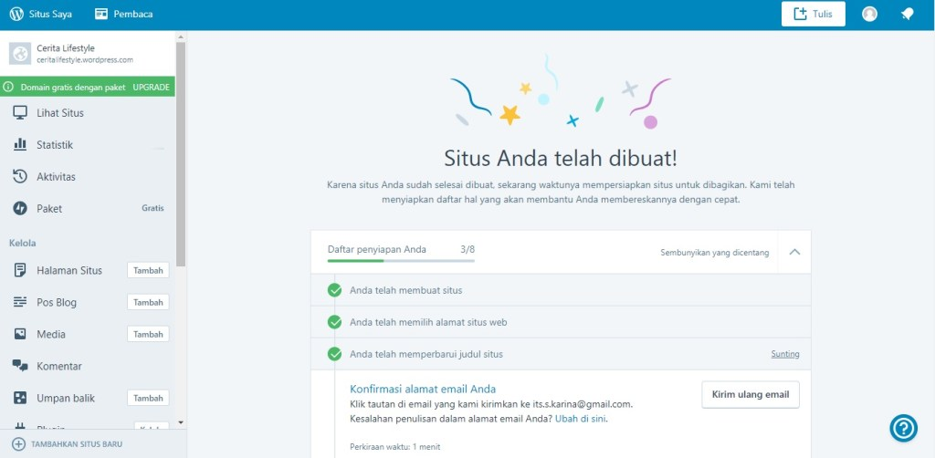 Blog Sittakarina - Cara Membuat Blog Sederhana Bagi Mereka yang Sibuk 2