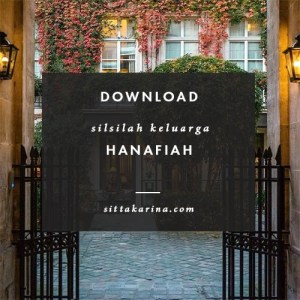 blog sitta karina - download silsilah keluarga hanafiah