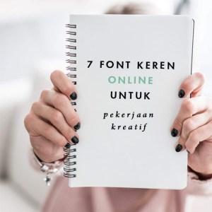 blog sitta karina - font keren online untuk pekerjaan kreatif