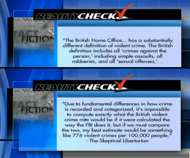 Ben Swann's correction to his earlier report.