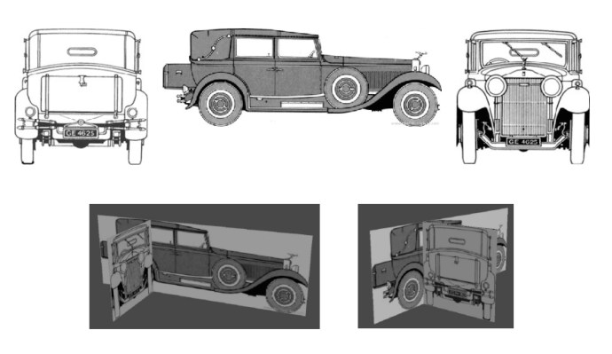 Art spotlight rolls royce 3 sketchfab blog it is necessary to say that i dont always use projections for modeling for example i created a model of the bugatti car using only one sketch malvernweather Images