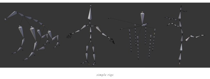 Sprout's Tale - Simple Rigs
