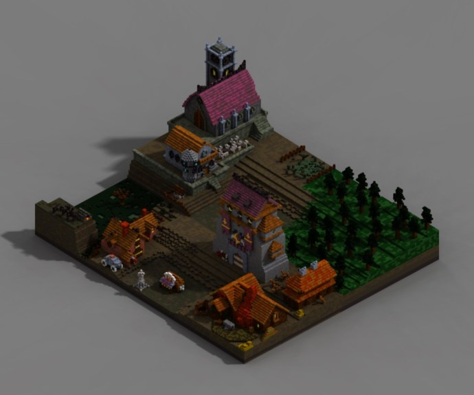 Darkest Dungeon Mansion