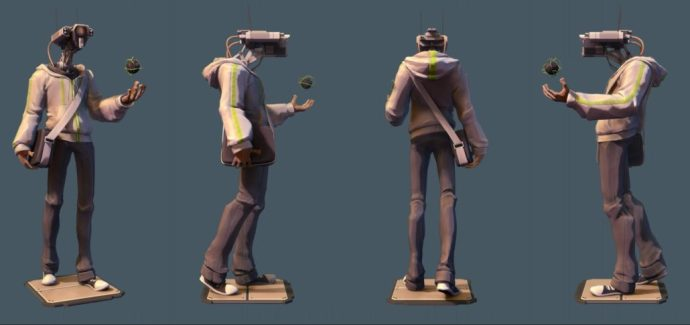 BPR Renders from ZBrush