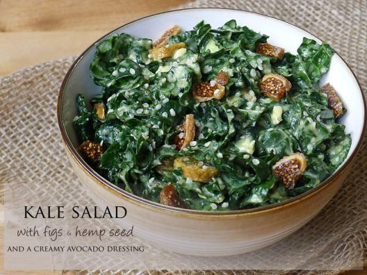 kale and fig salad recipe