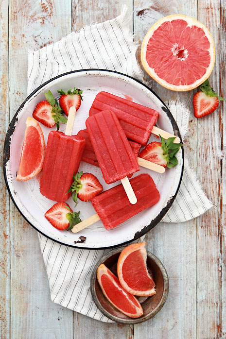 grapefruit popsicle