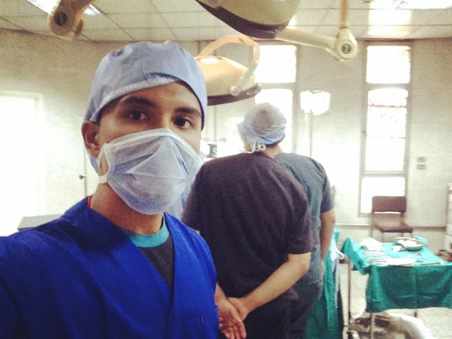 Luqman in the Operating Theatre