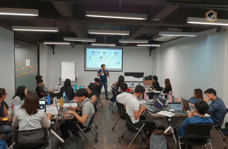 บรรยากาศห้องเรียนคอร์ส Intensive UI | Skooldio Blog - จาก Graphic Designer สู่ UI Designer ใน 1 ปี