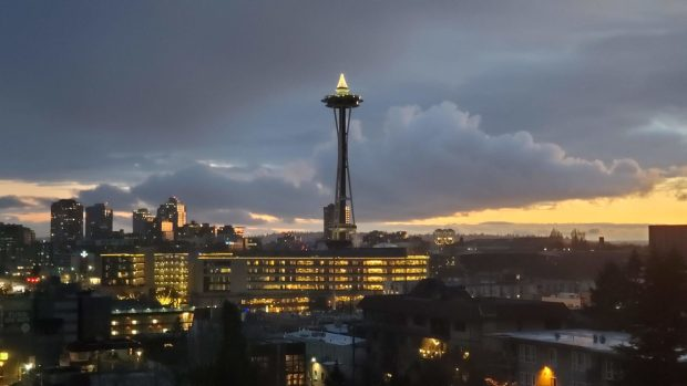 Space Needle, from Facebook Dexter Building