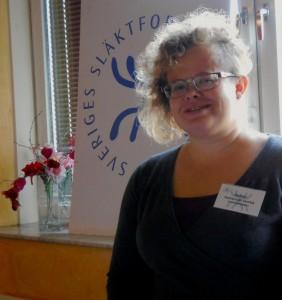Släktforskarförbundet representerades av  Susanne Gustavsson Sambia från förbundsstyrelsen