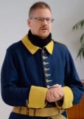 Soldatforskaren och karolinen Mattias Åbom