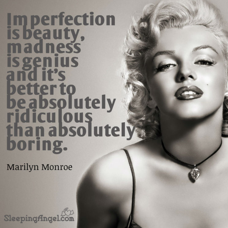Beautiful Wallpapers With Heartfelt Quotes Marilyn Monroe Quote Sleeping Angel