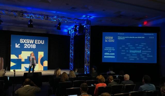 SXSW EDU using Slido