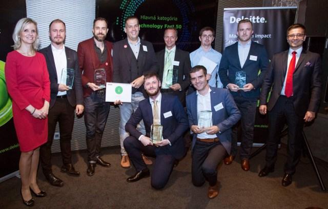 Slido received the Deloitte award