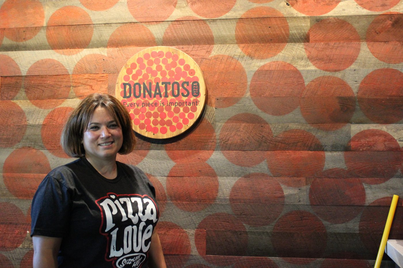 Christina Vogel of Donatos Pizza.