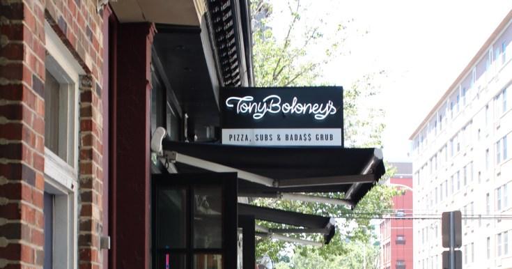 Outside of Tony Boloney's