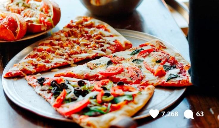 Johnny's Pizza Veggies
