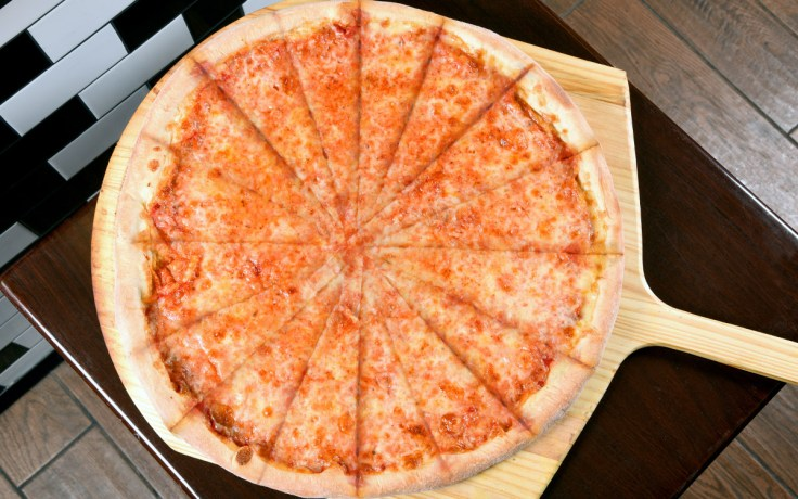 16 Slice Pizza Double Cut