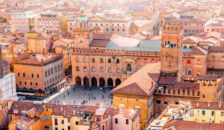 Bologna Italy Buildings