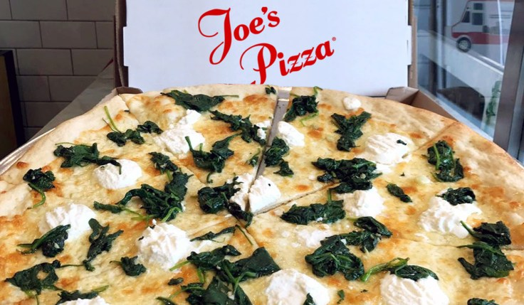 Joe's White Pizza Los Angeles