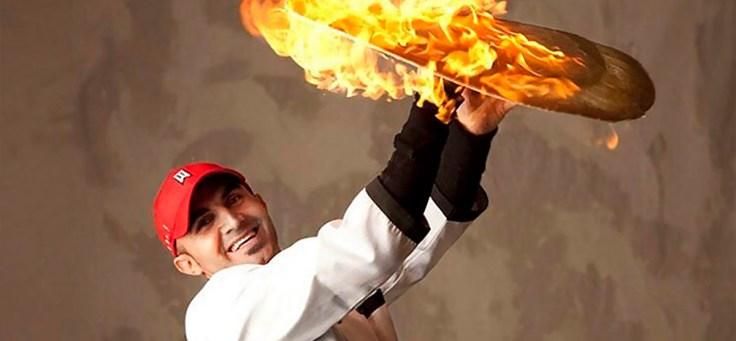 Hakki Akdeniz Flaming Dough