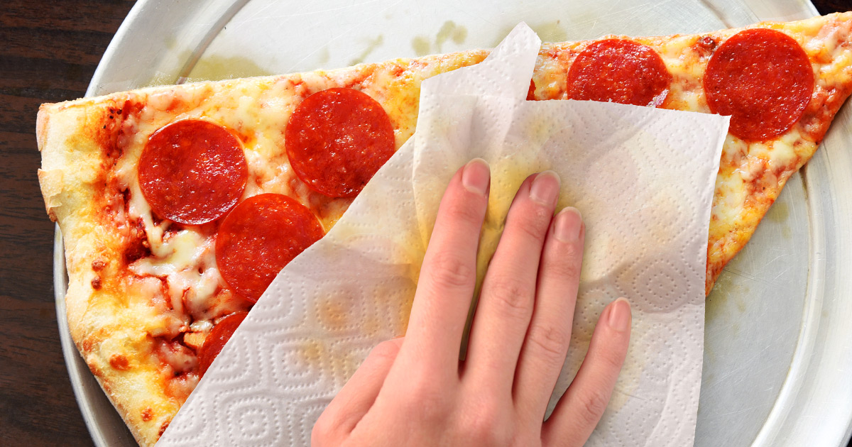 Pizza Grease Blot Napkin