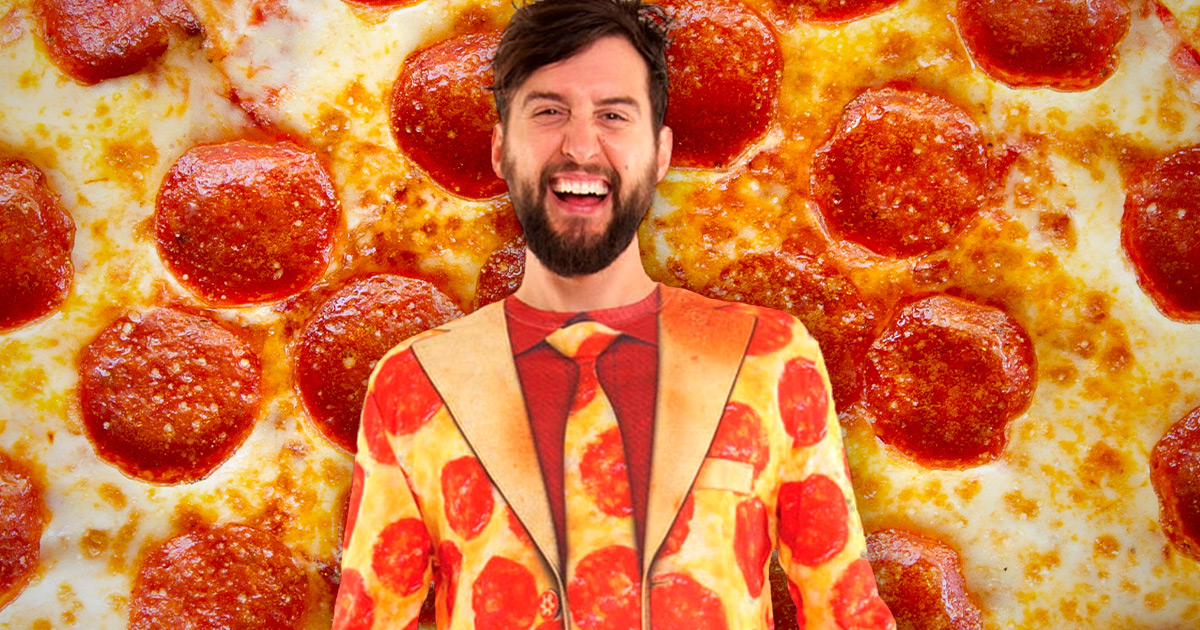 Pizza Costume Halloween Suit Pepperoni