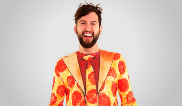 Halloween Suit Pepperoni Pizza Costume