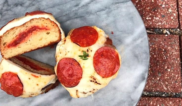 PVDonuts Pizza Donut