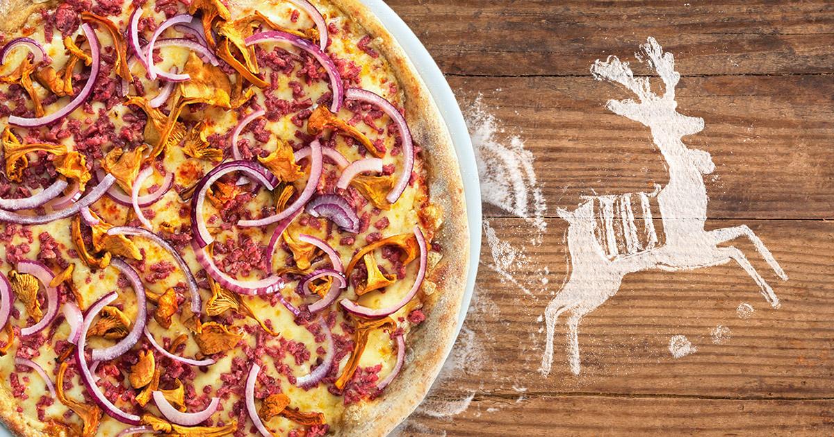 Finland's Reindeer Pizza