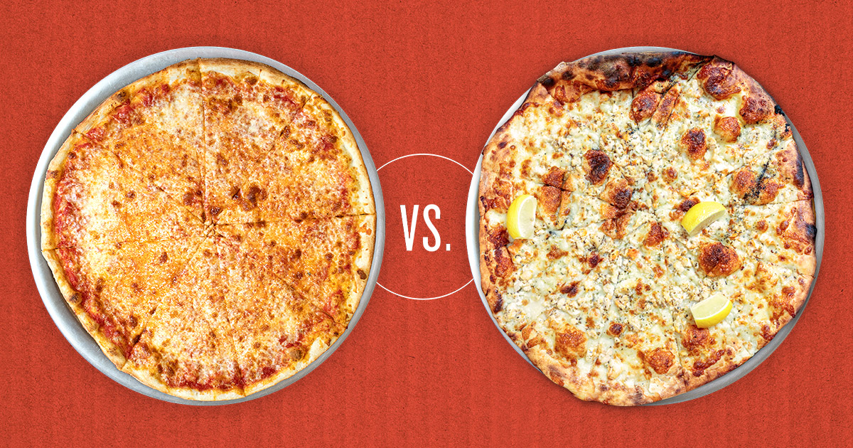 New York style pizza versus New Haven style apizza